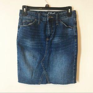 Universal Thread denim skirt.